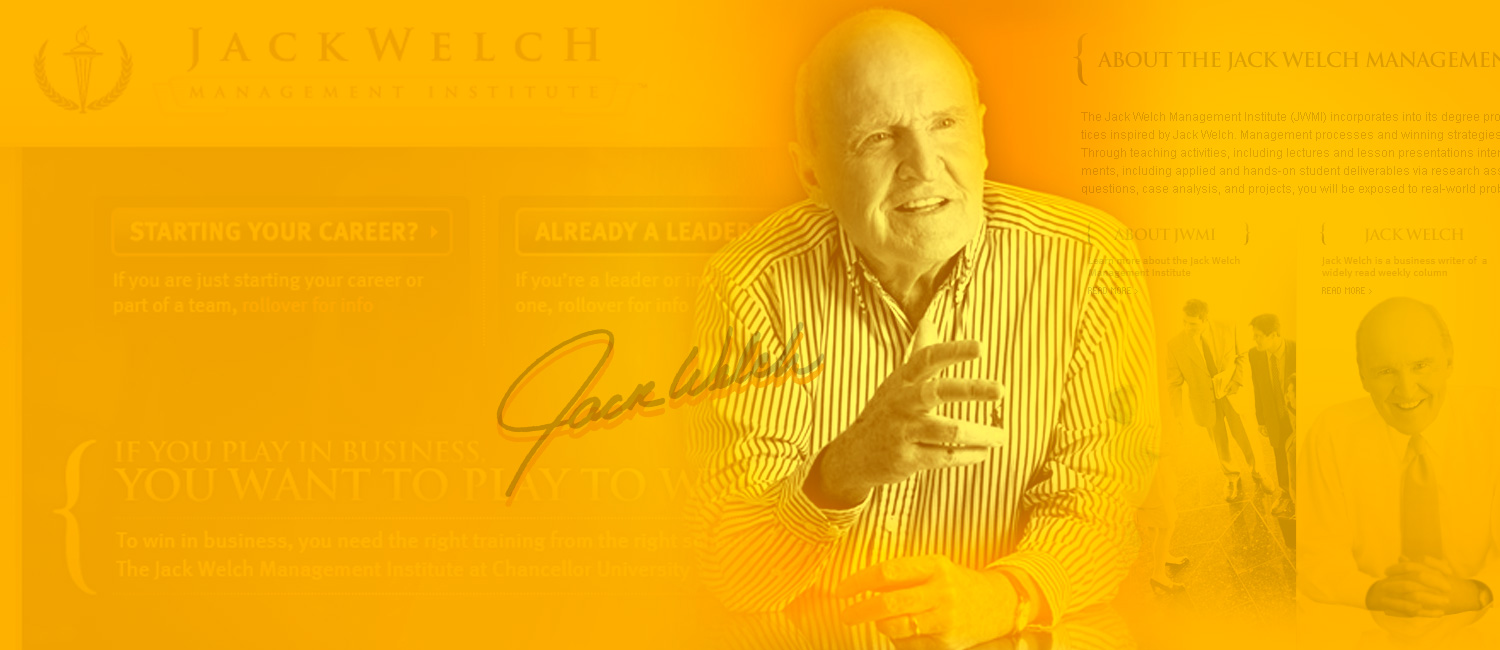 """CEO-of-the-century"" Jack Welch"