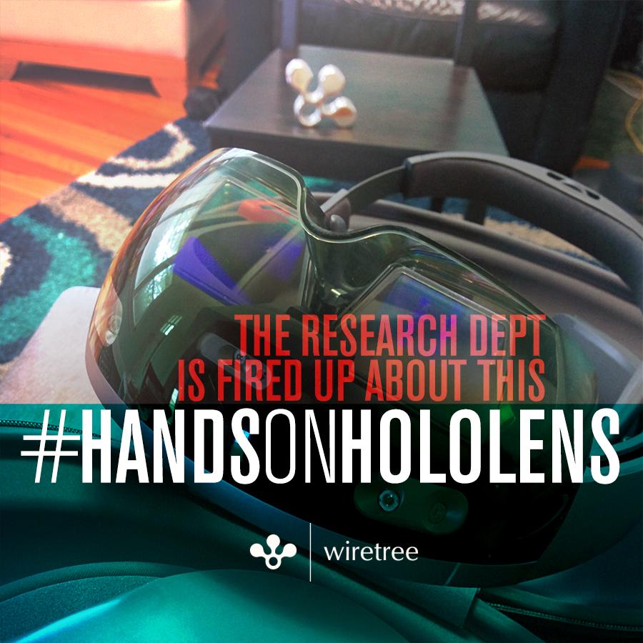 Hands on HoloLens